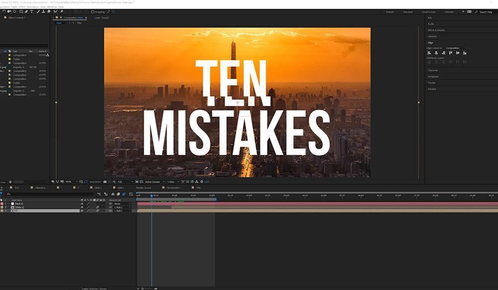 Thumbnail1 - 要避免的十大AE错误