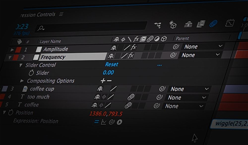 sliders3 - 使用滑块在Adobe After Effects中控制表达式