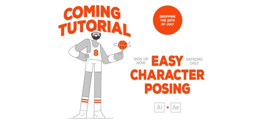 Easy Character Posing Promo 169 520x245 - Markus Magnusson出品MG动画AE教程合集