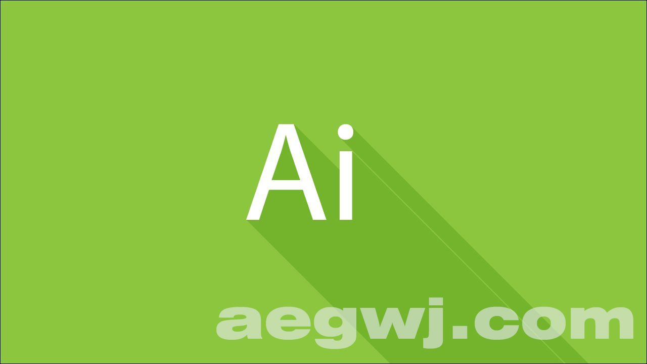 aegwj水印模板 15 - AE制作MG动画扁平化长投影教程 Creating Flat Long Shadows Tutorial