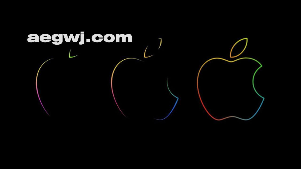 aegwj水印模板 42 - 苹果Logo描边动画AE教程 Apple Logo Animation using Trapcode 3D Stroke Tutorial