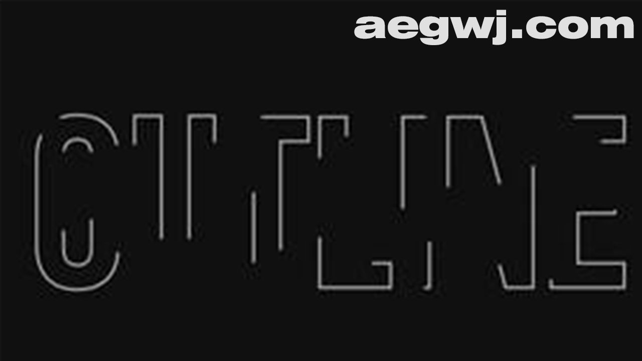 aegwj水印模板 64 - After Effects中的简单大纲文本动画Skillshare - Easy Outline Text Animation in Adobe After Effects