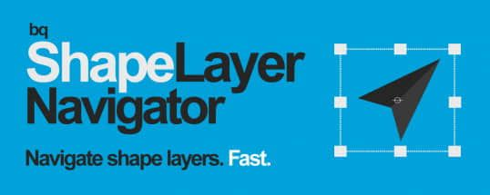 bq shape - AE自定义形状图层管理脚本bq_ShapeLayerNavigator v1.2