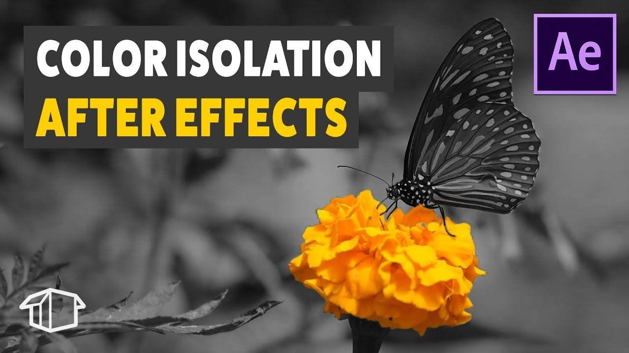 maxresdefault 1 1 - 视频选取单色AE教程 Color Isolation