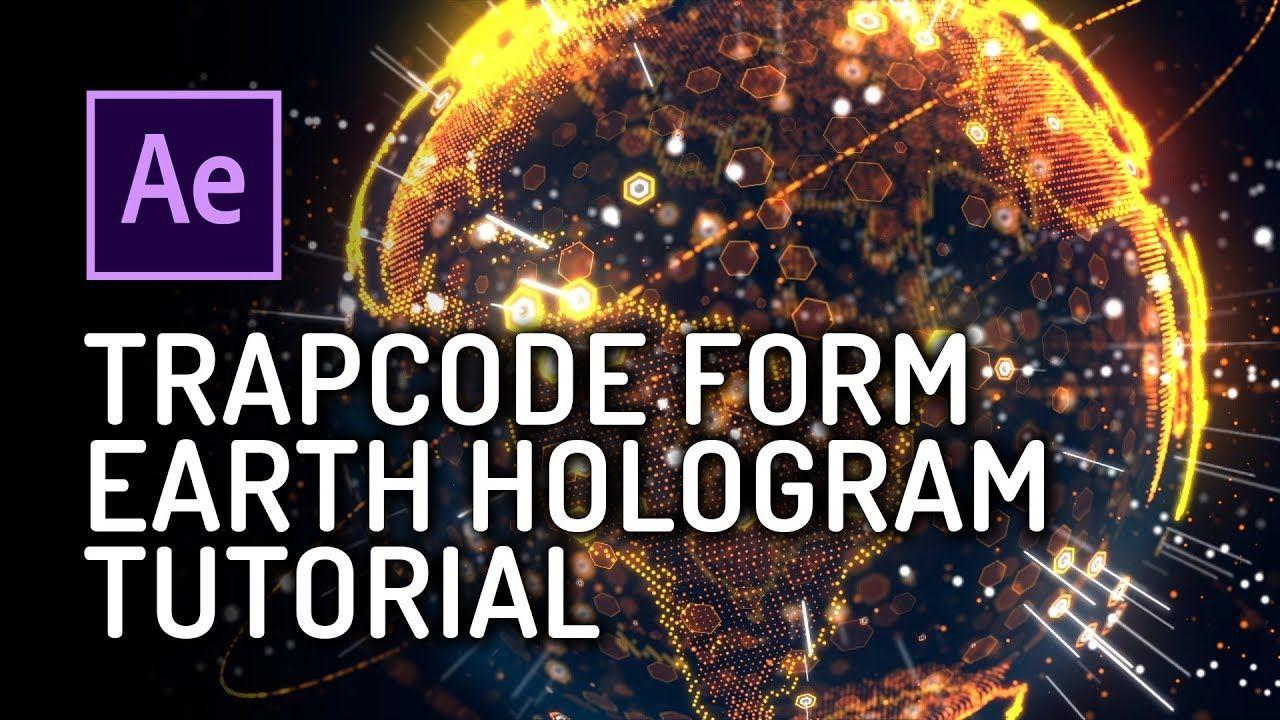 maxresdefault 2 1 - Trapcode Form制作全息科幻粒子地球动画AE教程 Earth Hologram