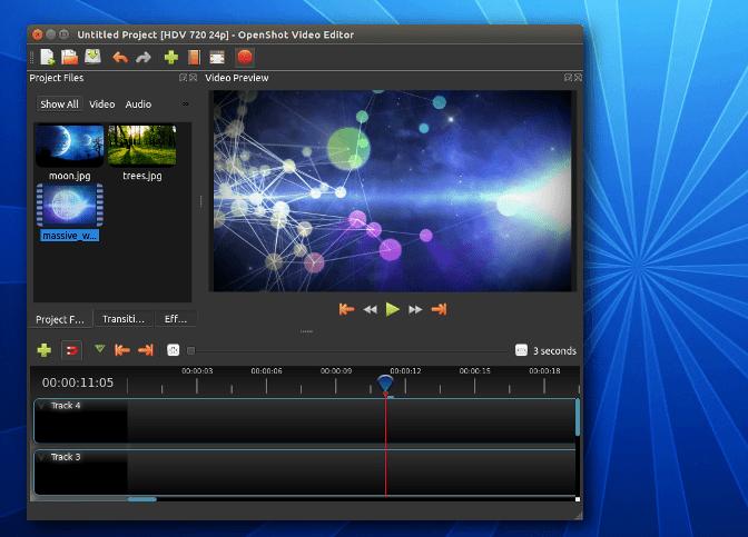 QQ截图20190523122308 - OpenShot 视频编辑器