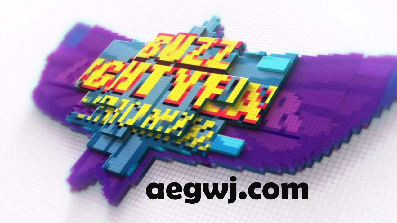 aegwj水印模板 101 - AE转换中的徽标动画Transformation Logo Animation in After Effects