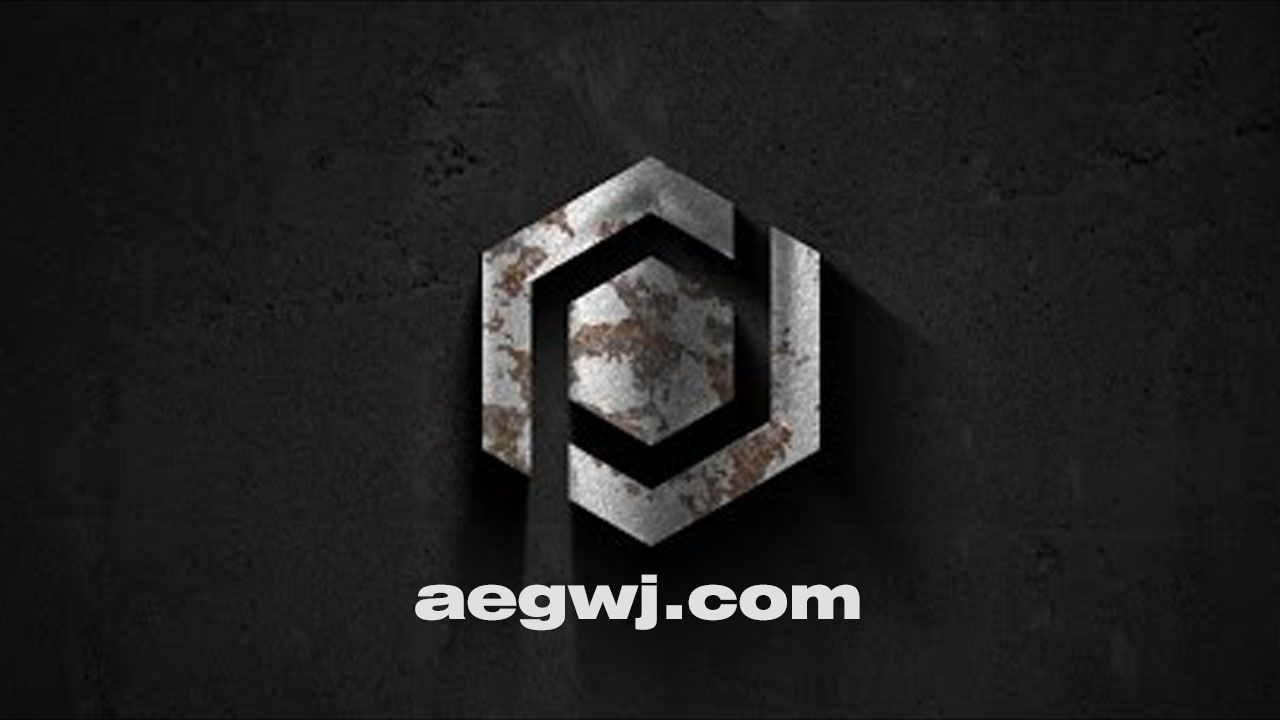 aegwj水印模板 102 - AE金属标志介绍Metallic Logo Intro in After Effects
