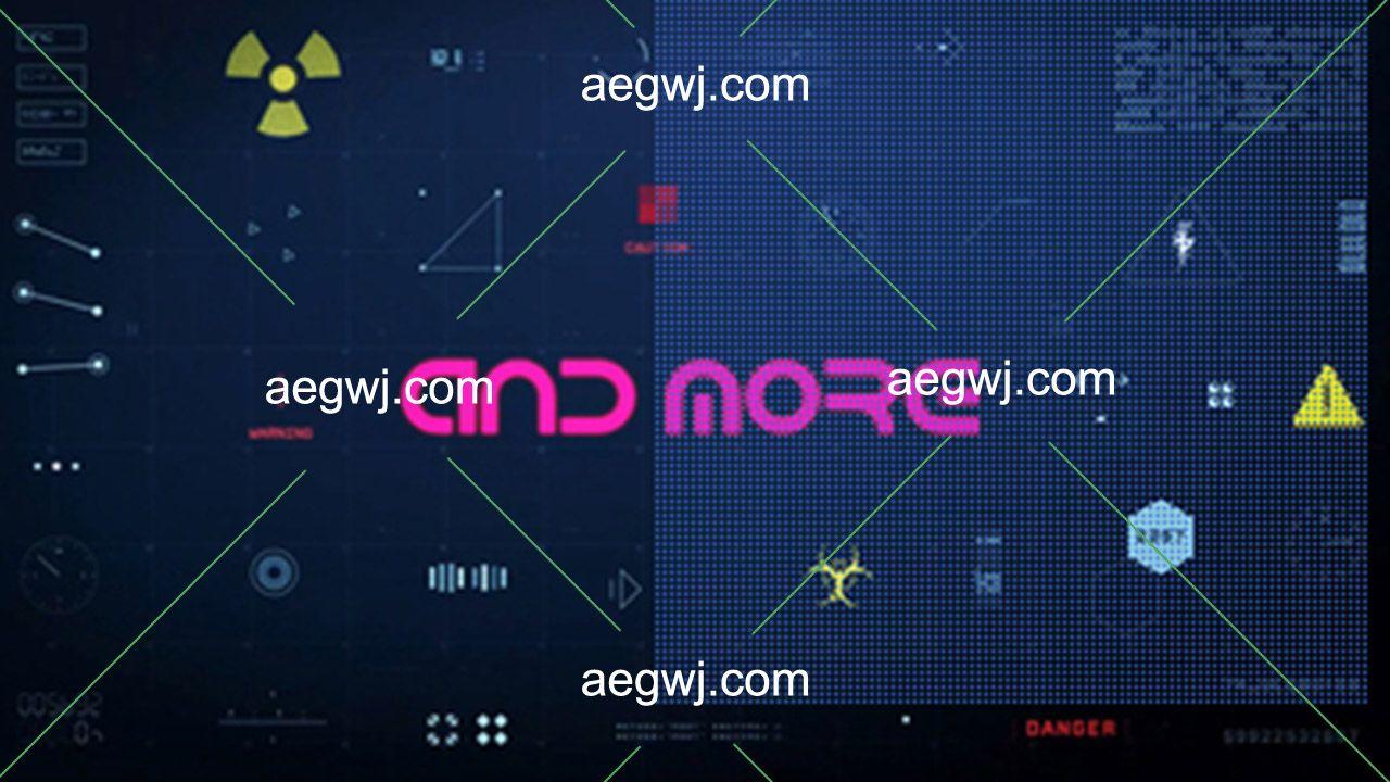 aegwj水印模板 152 - 424组HUD未来科幻高科技UI界面元素动画全高清视频素材+AE工程