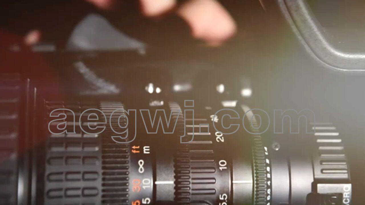 aegwj水印模板 154 - 视频素材-唯美大气精品炫光光晕转场效果
