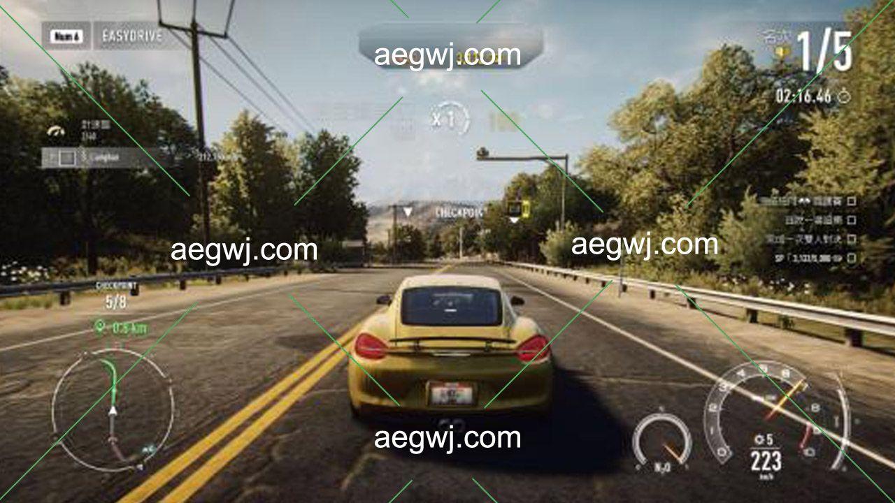 aegwj水印模板 159 - WAV音效素材多个品牌汽车在不同速度行驶时的声音库