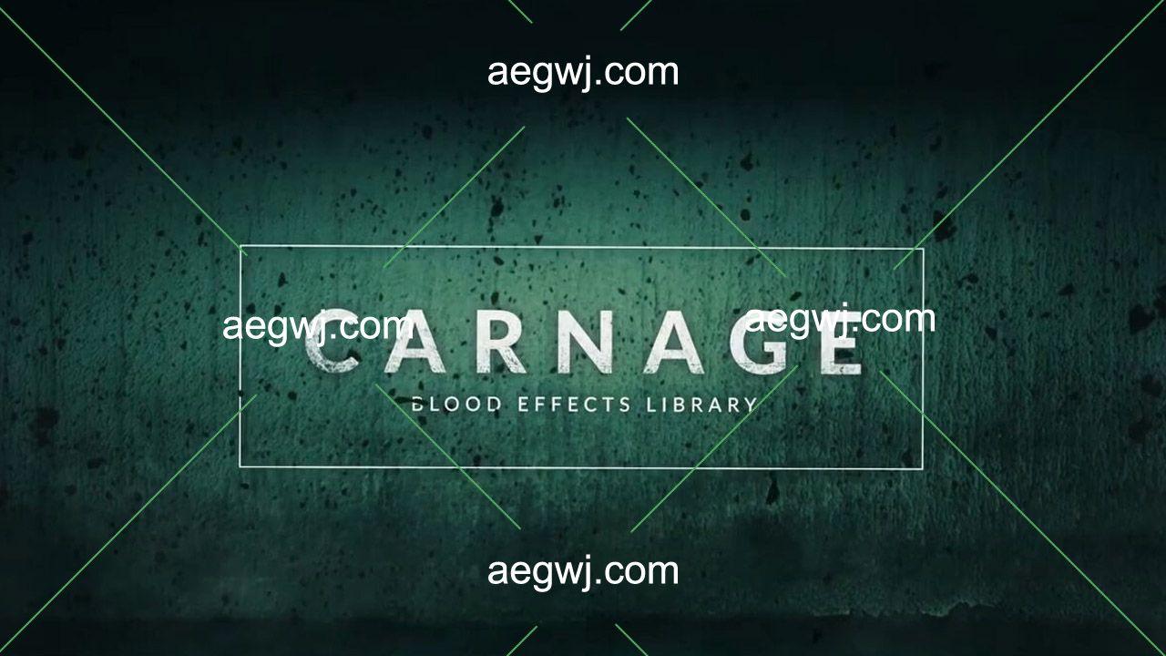 aegwj水印模板 160 - 294组实拍血液喷溅流血溅血血迹特效合成制作4K分辨率视频素材资源下载