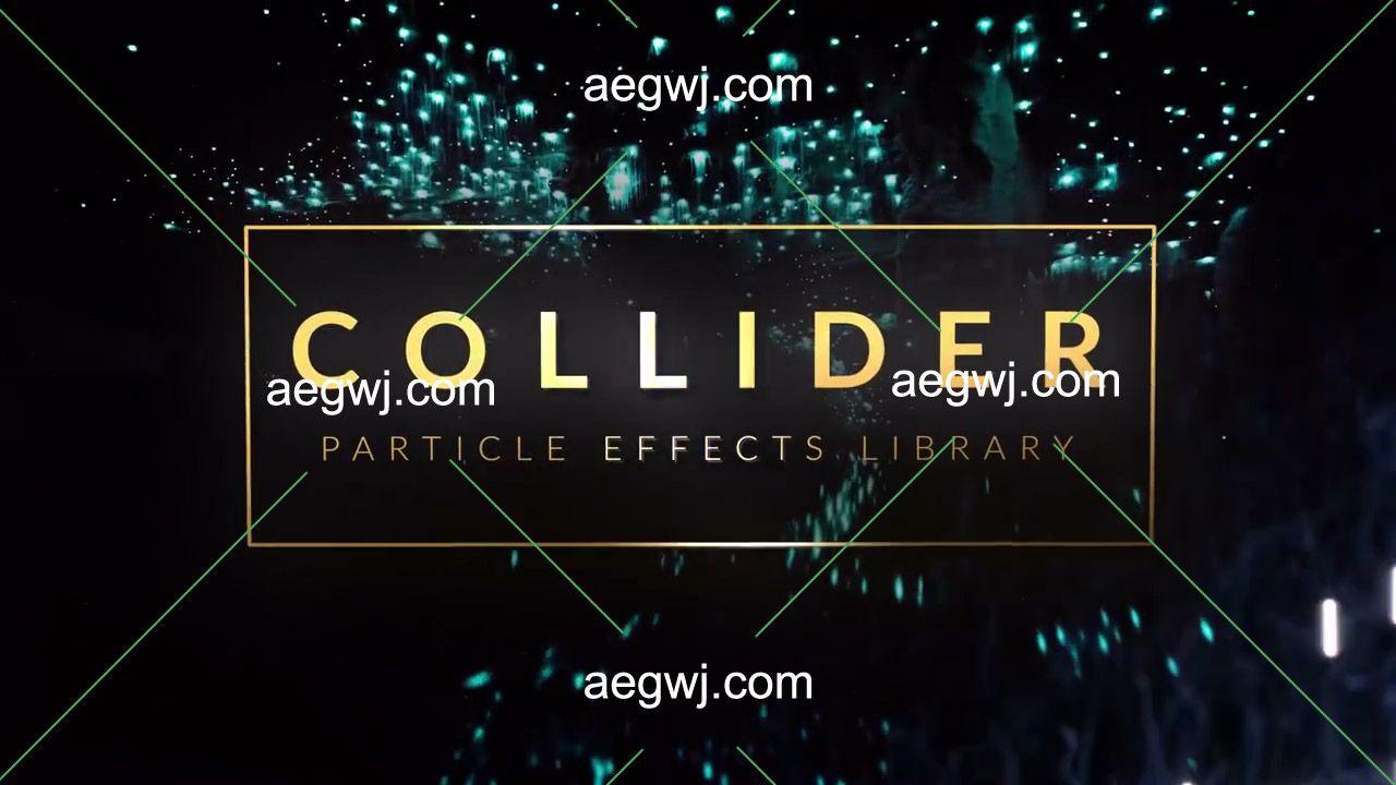 aegwj水印模板 162 - 155个特效合成资源彩带光斑粒子粉尘星火4K分辨率视频素材下载