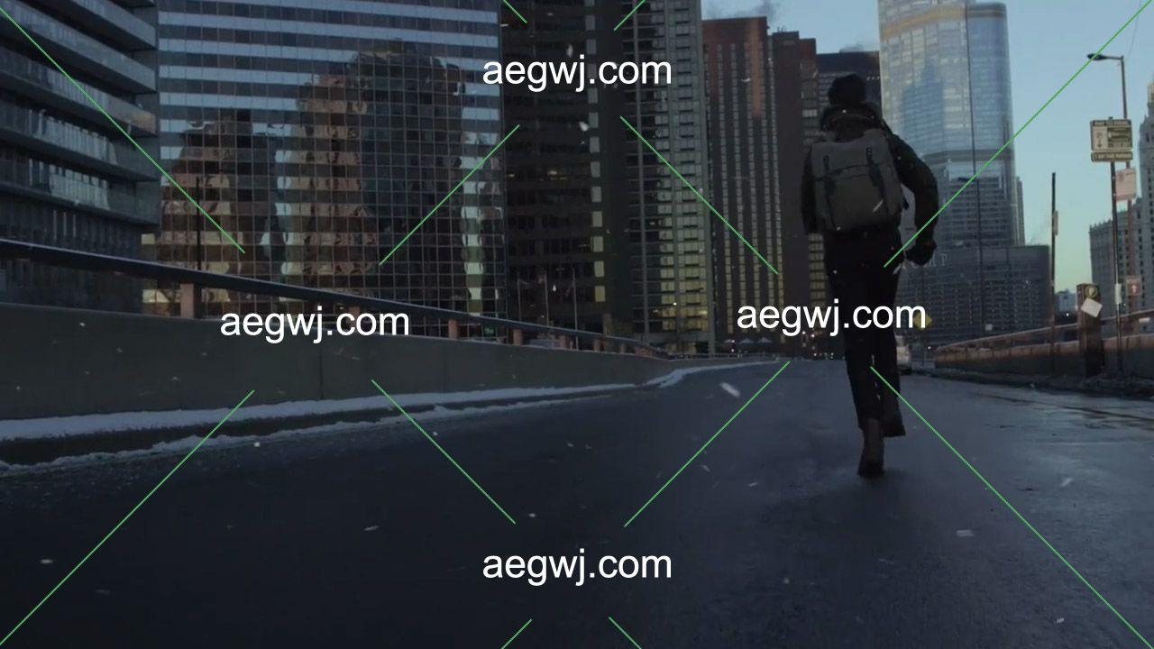aegwj水印模板 164 - 120种下雪飘雪花粒子动画特效合成4K分辨率视频素材资源下载