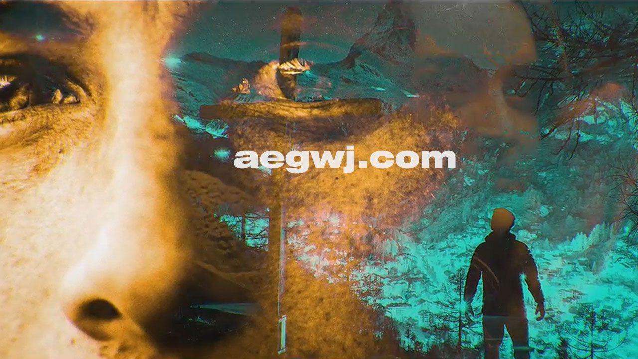 aegwj水印模板 23 - Pr模板-颜色多重曝光图片开场片头 Color Exposure Opener