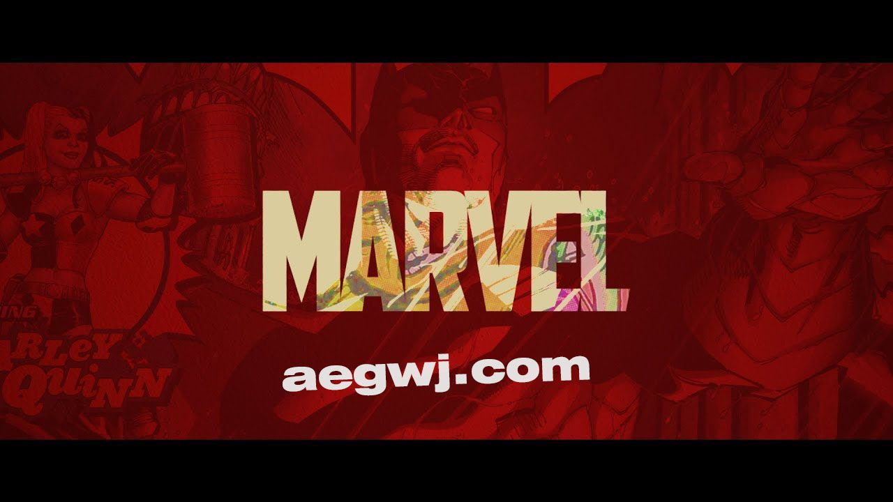 aegwj水印模板 44 - AE制作漫画书标志介绍Comic Book Logo Intro in After Effects