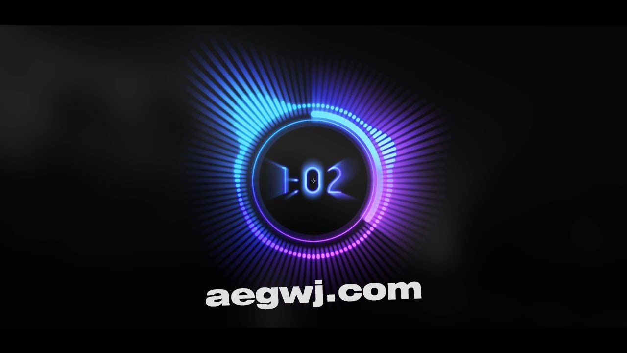 aegwj水印模板 71 - AE中的音乐可视化工具Music Visualizer in After Effects