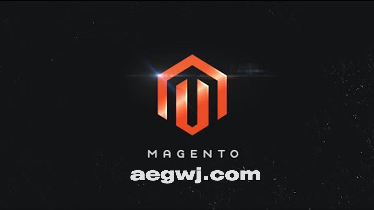 aegwj水印模板 88 - AE发光LOGO动画Shine Logo Animation in After Effects
