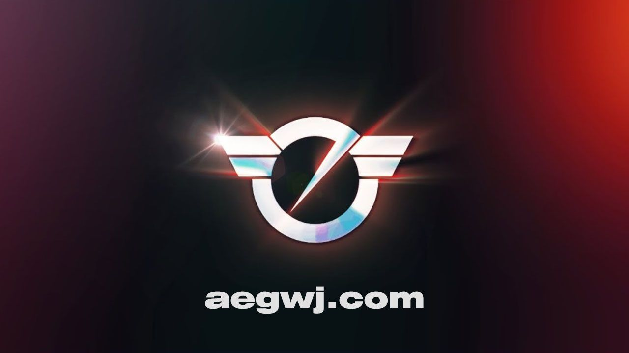aegwj水印模板 91 - AE快速闪光标志介绍Quick Flash Logo Intro in After Effects