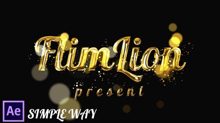 1559210576 maxresdefault 770x430 - 黄金粒子的文本效应After Effects Tutorial Gold Particles Text Effects in After Effects