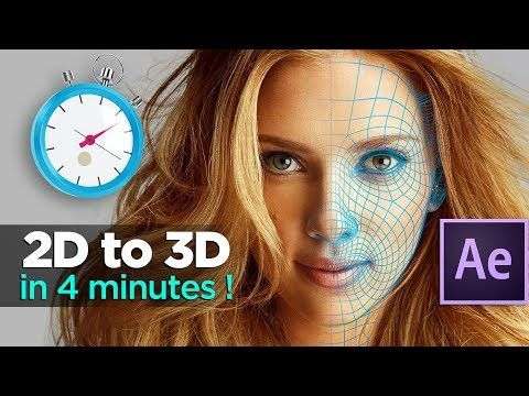 19d236e17f74b2cf01bb27eb324a7c75 - AE中的二维到三维动画2D to 3D Animation in After Effects - After Effects Tutorial - VoluMax Pro V43