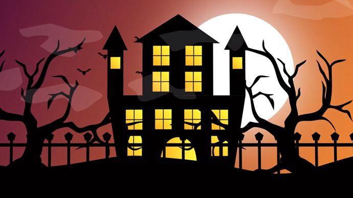After Effects Halloween Scene Cartoon Animation Tutorial - 万圣节场景动画After Effects Tutorial Halloween Scene Cartoon Animation