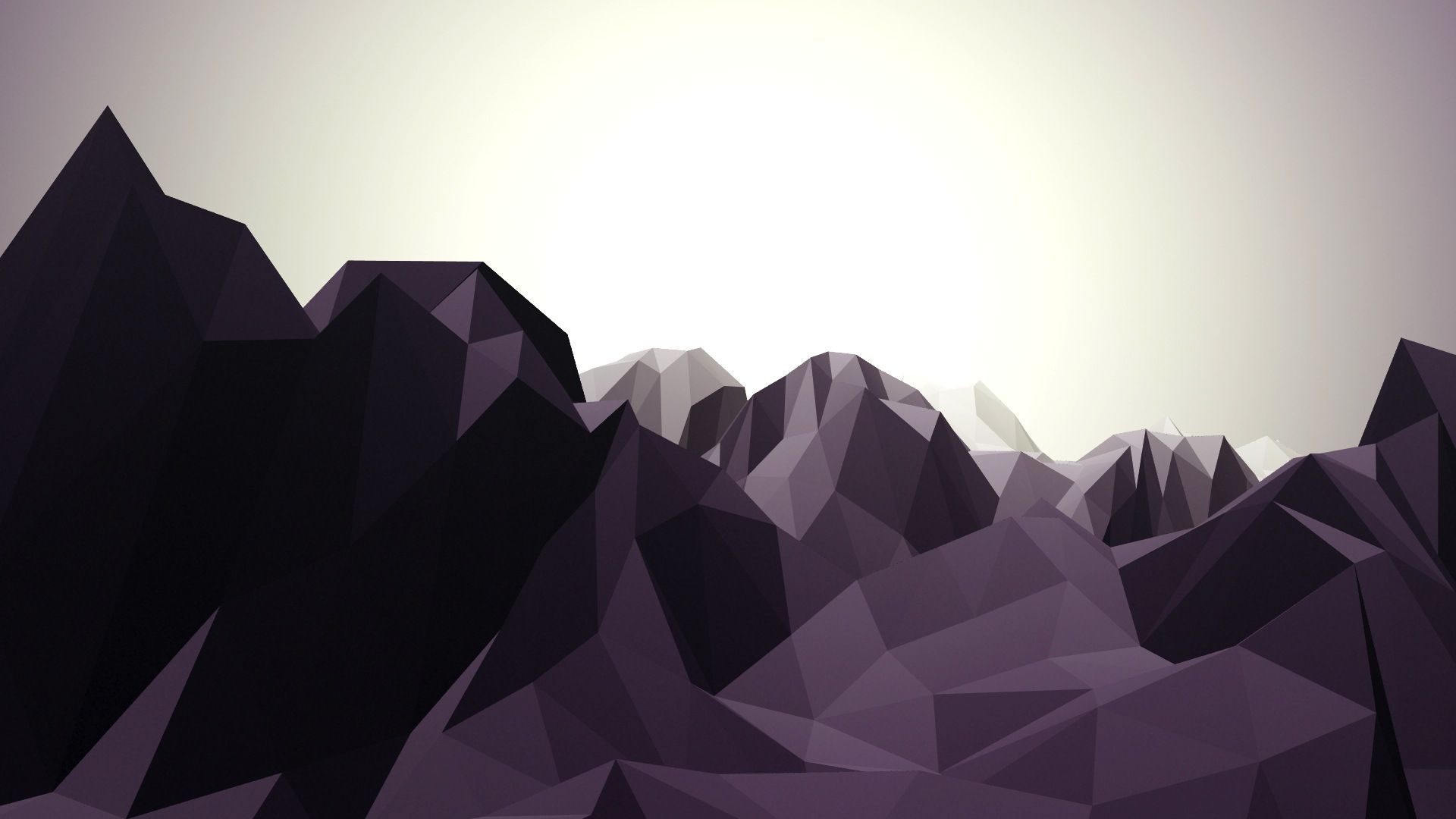 Low Poly Mountain Trapcode Mir - mir绘制的低聚合山景观AE Low Poly Mountain Landscapes With Trapcode Mir