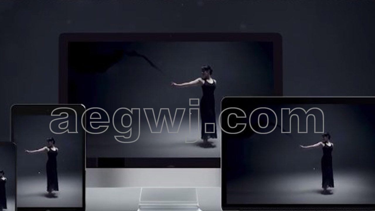 aegwj水印模板 29 - PR预设与工程能制作5000种视频转场特效故障失真扭曲模糊冲击分割