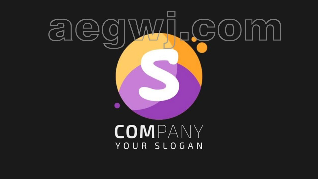 aegwj水印模板 88 - 简单液体徽标动画Simple Liquid Logo Animation in After Effects - After Effects Tutorial - No Third Party Plugins