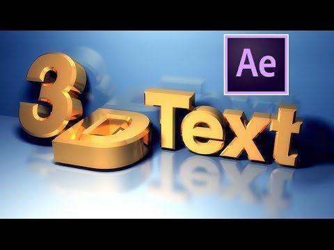 hqdefault 1 2 - AE教程-3D文本教程After Effects - 3D Text Tutorial