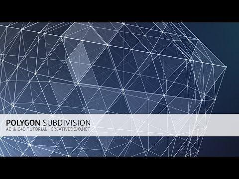 hqdefault - 多边形细分教程AE  C4D Polygon Subdivision Tutorial (Trapcode Form  Plexus Workflow)