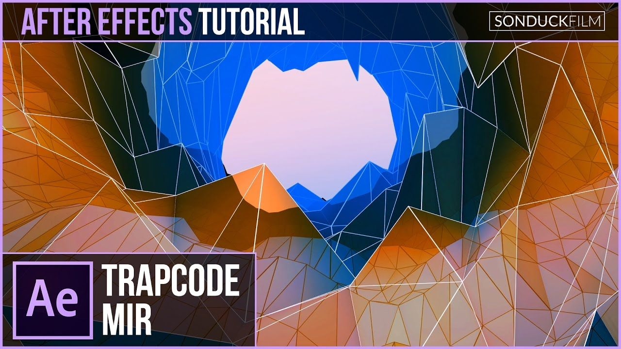 maxresdefault 1 10 - 具有trapcode mir的低多边形三维对象After Effects Tutorial Low Poly 3D Objects with Trapcode Mir
