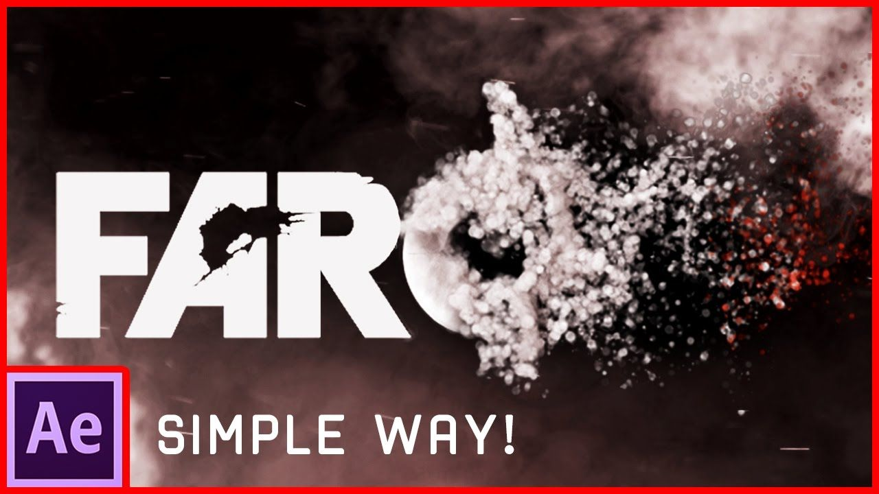 maxresdefault 1 2 - 粒子LOGO文本动画After Effects Tutorial Particles Logo  Text Animation