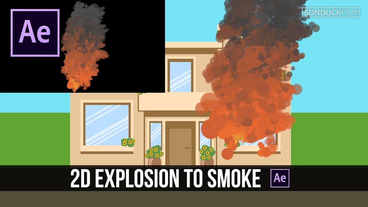 maxresdefault 1 9 - 二维火灾爆炸冒烟卡通gfxAfter Effects Tutorial 2D Fire Explosion to Smoke Cartoon GFX