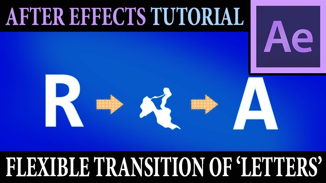 maxresdefault 10 2 - 灵活的字母转换Flexible Transition Of Letters  After Effects Tutorial