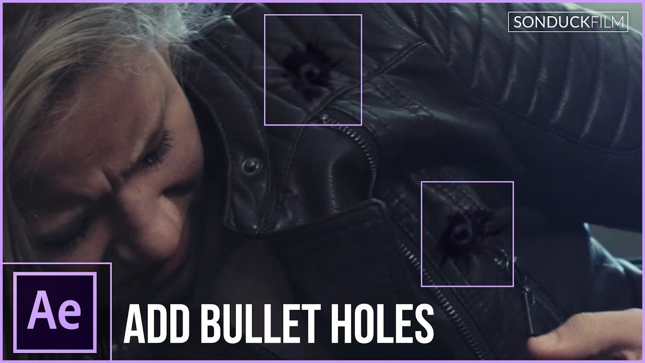 maxresdefault 10 7 - 为演员添加弹孔After Effects Tutorial Add Bullet Holes To Your Actors