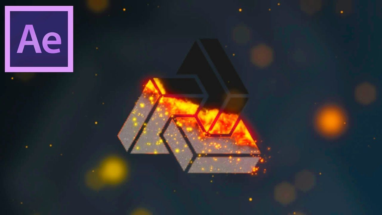 maxresdefault 11 2 - 燃烧的图标动画Burning Logo Animation in After Effects - After Effects Tutorial - Easy Method
