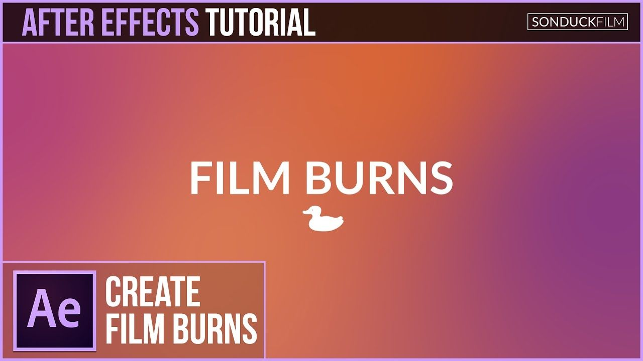 maxresdefault 12 16 - 梯度电影烧伤动画After Effects Tutorial Gradient FILM BURN Animation