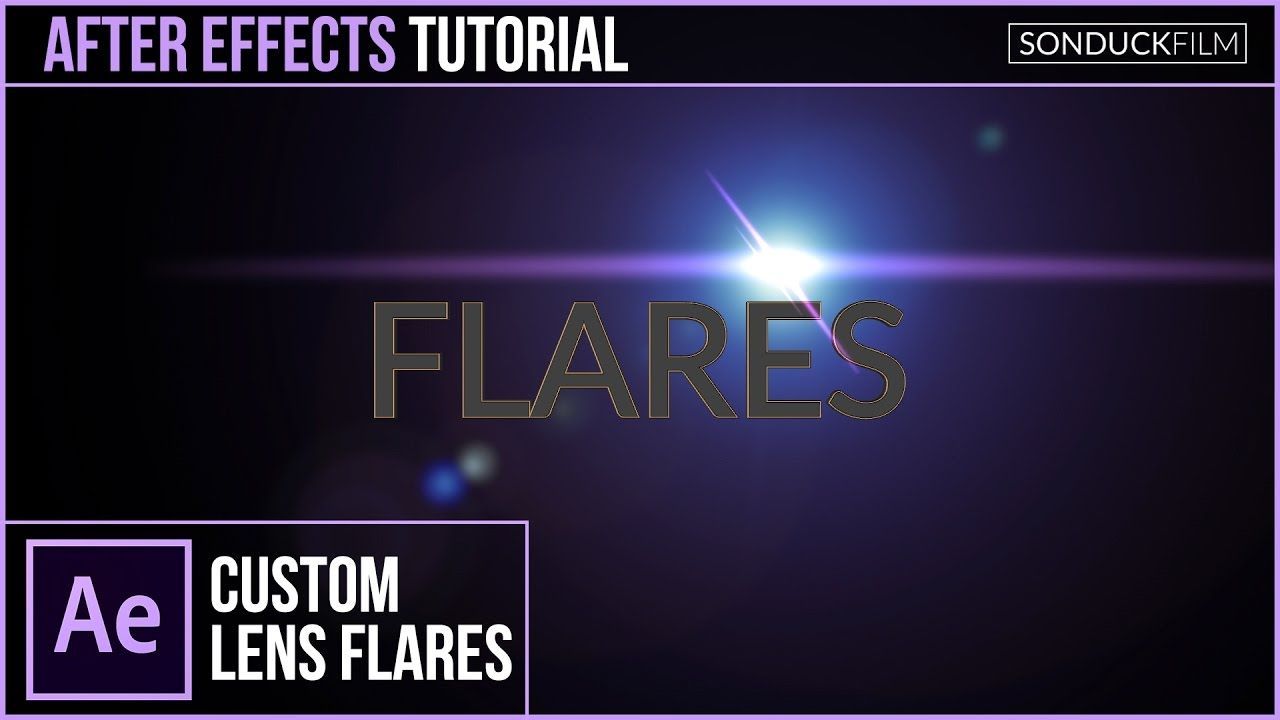 maxresdefault 12 18 - 自定义镜头光晕After Effects Tutorial Custom LENS FLARES with No Plugins