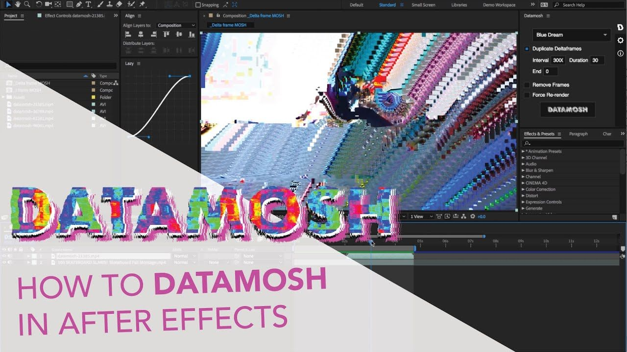 maxresdefault 12 4 - 如何在AE内部完成真正的数据处理Datamosh -How to accomplish REAL datamoshing inside of After Effects