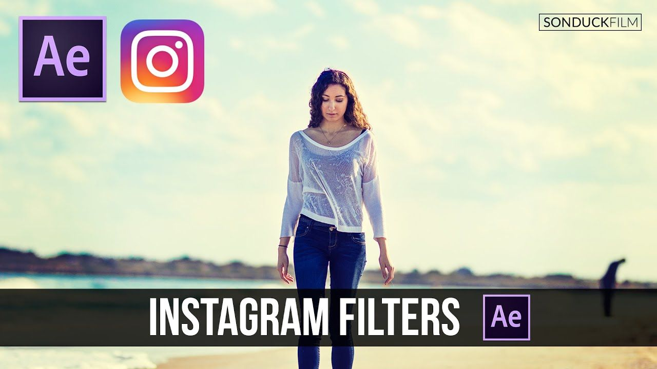 maxresdefault 12 8 - 为视频创建Instagram过滤器-颜色分级After Effects Tutorial Create Instagram Filters for Video - Color Grading