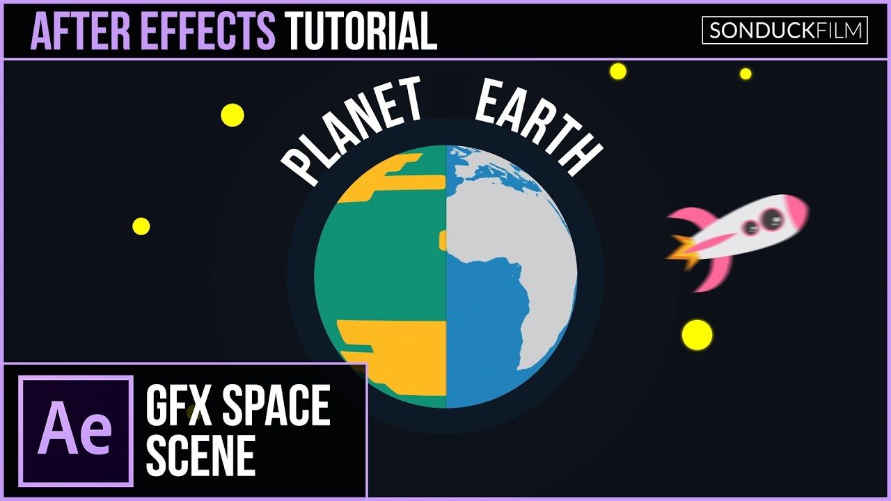 maxresdefault 13 10 - 创建行星动画二维空间After Effects Tutorial Create a PLANET Animation  2D Space Motion Graphics
