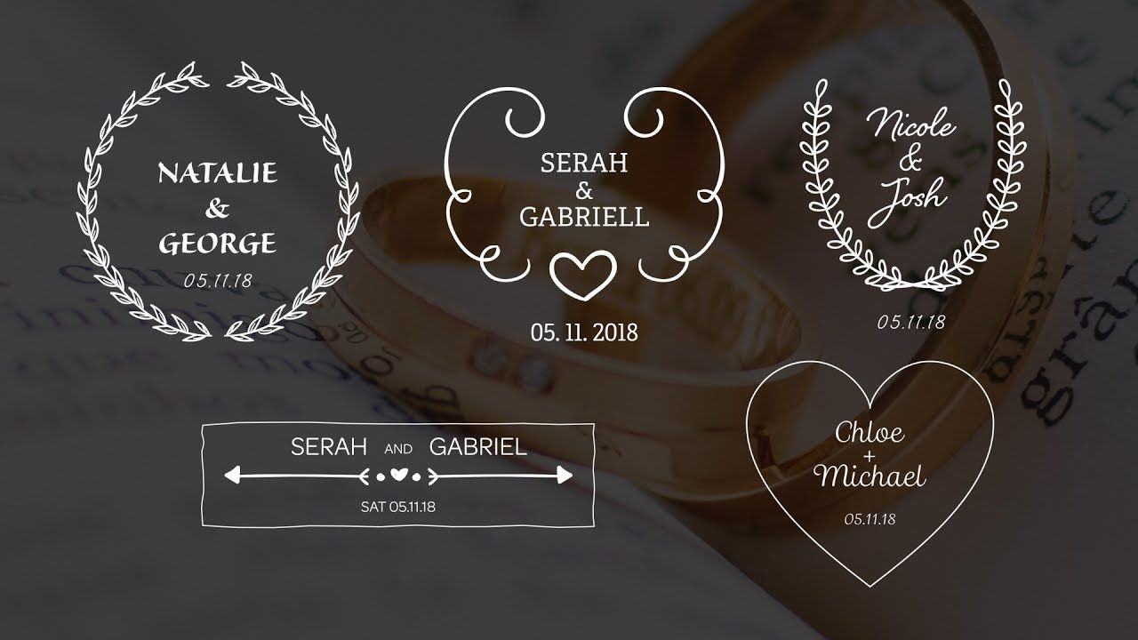 maxresdefault 13 9 - 创建婚礼标题Create Wedding Titles with After Effects - Motion Graphics Tutorial