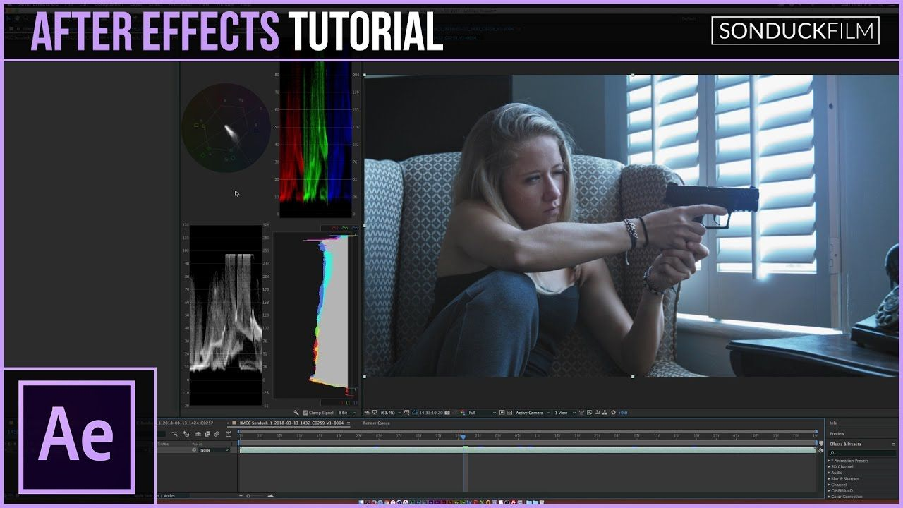 maxresdefault 14 6 - lumetri色彩校正After Effects Tutorial How to Use Lumetri Scopes to Color Correct Your Footage