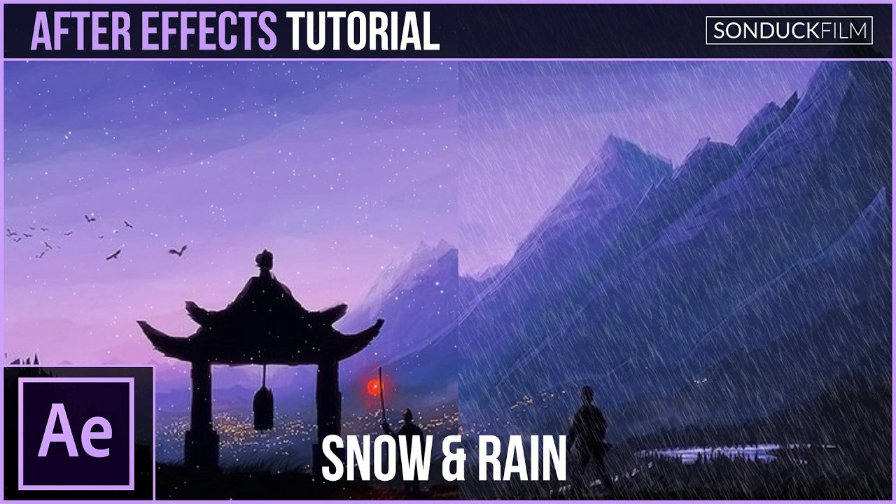 maxresdefault 14 8 - 使用粒子创建雪和雨After Effects Tutorial Create SNOW and RAIN with Particles