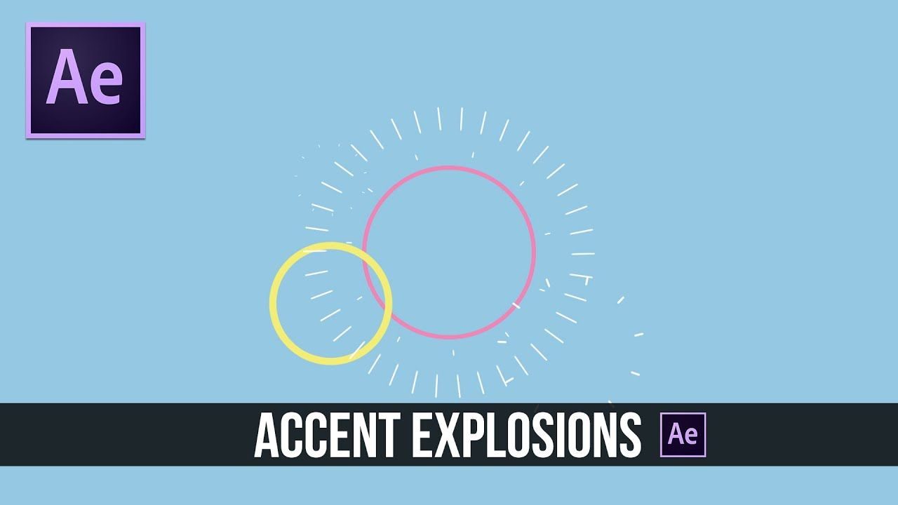 maxresdefault 15 5 - MG分散动画After Effects Tutorial Accent Explosion 2D Motion Graphics