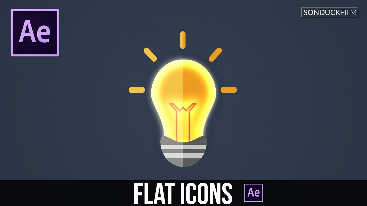 maxresdefault 15 8 - 创建平面图标-After Effects Tutorial Create Flat Icons - Motion Graphic Animation