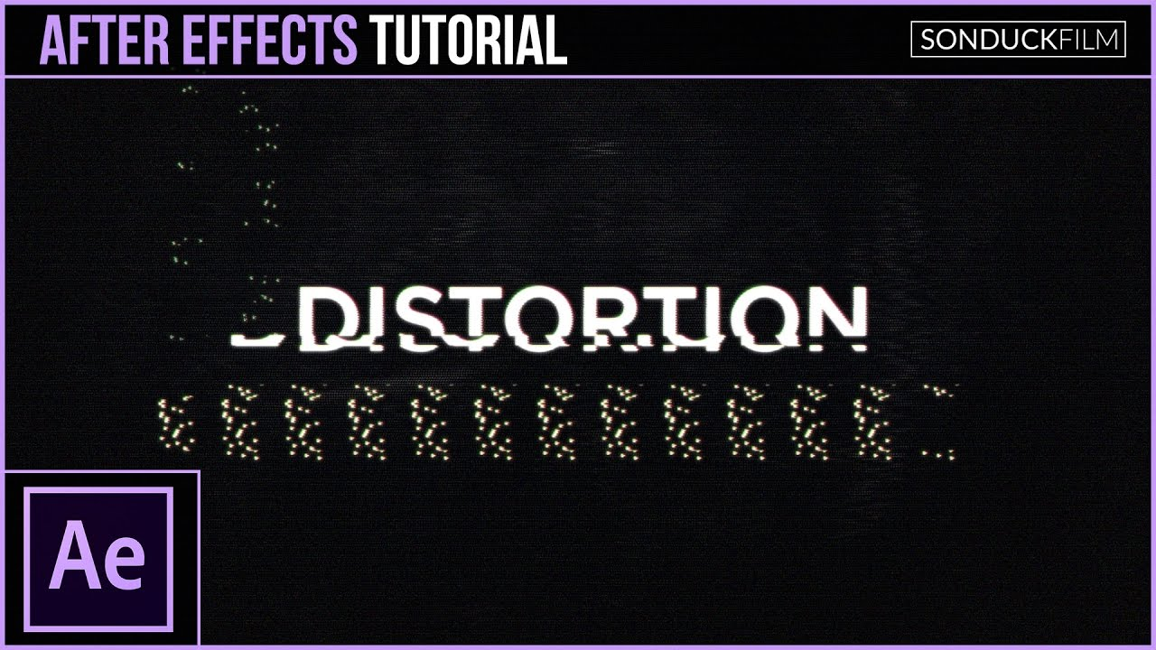 maxresdefault 17 10 - 数字失真效应After Effects Tutorial Glitch Digital Distortion Effect for Motion Graphics