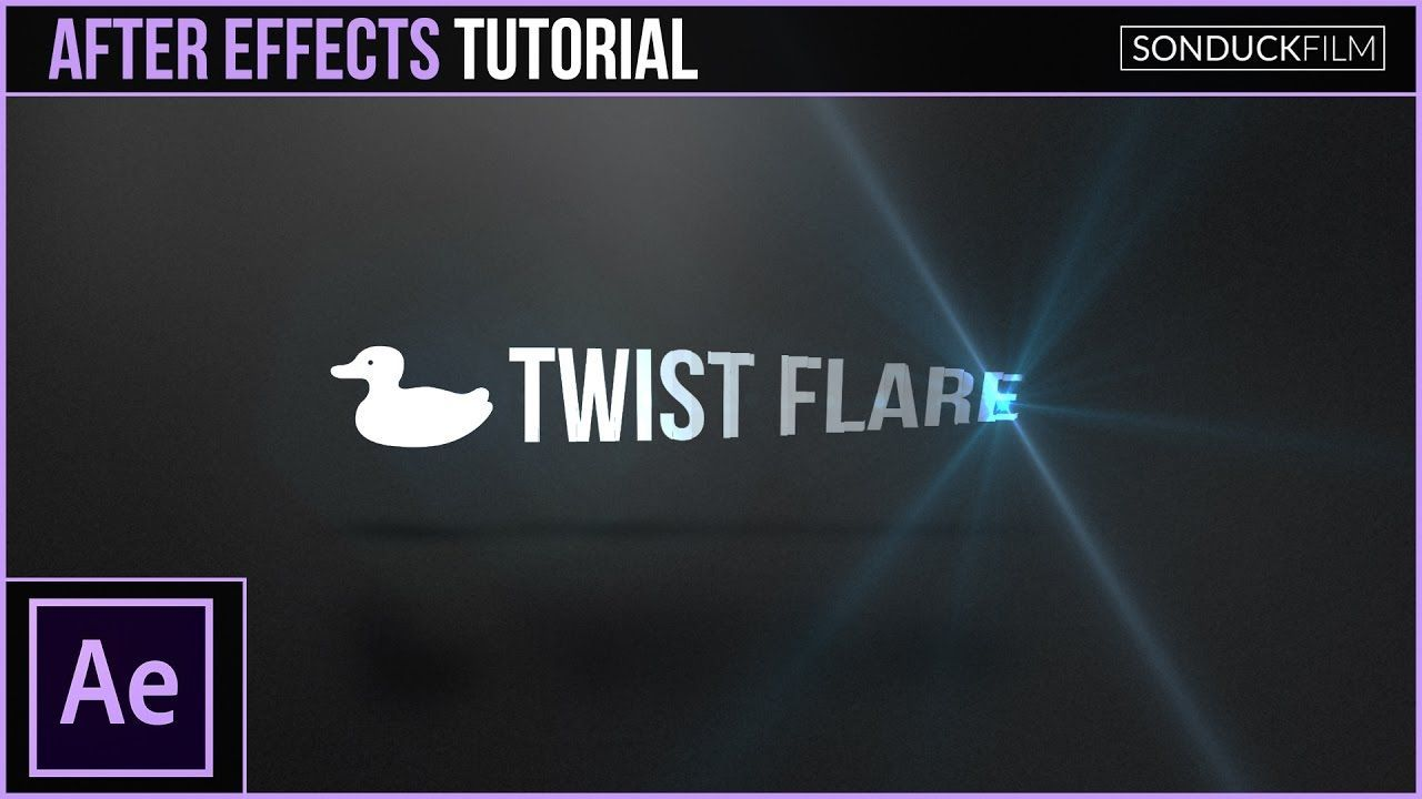 maxresdefault 17 5 - 光晕的扭曲介绍动画After Effects Tutorial Flare Twist Intro Animation