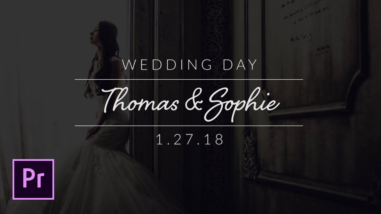 maxresdefault 17 6 - 创建最小婚礼标题Create Minimal Wedding Titles in Adobe Premiere Pro - Tutorial